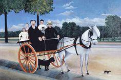 Henri Rousseau - La carriole du père Juniet (1908)