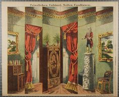Prinzliches Cabinet. Seiten-Coulissen. No. 7816.