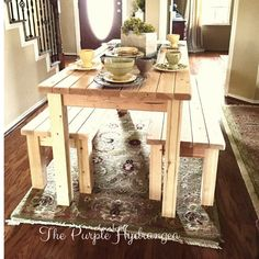 Our 2 x 4 project is now complete with 2 benches! New house Our 2 x 4 project is now complete with 2 benches! Furniture, 2x4 Furniture, 2x4 Furniture Plans, Diy Home Decor, Furniture Plans, Home Decor, Inexpensive Furniture, Contemporary Home Decor, Rustic Dining Table