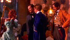 Lucy Westenra, John Seward, Quincey P. Morris e da Lord Arthur Holmwood. Dracula (1992).