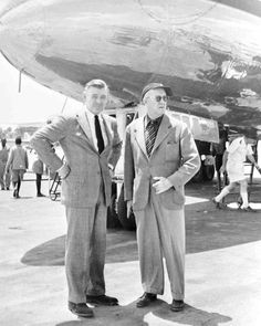 Clark Gable and John Ford