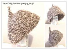ベビーのどんぐり帽子の編み方と編み図を無料で公開 Baby Knitting, Crochet Baby, Handmade Baby, Baby Hats, Crafts, Clothes, Outfits, Manualidades, Clothing