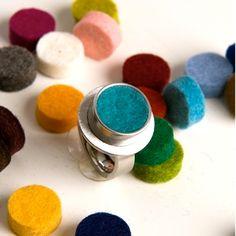 Ring met aanpasbare kleuren (rond) - Amazing Me Shop