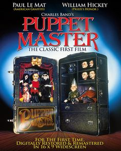 Amazon.com: Puppet Master [Blu-ray]: Paul Le Mat, William Hickey, Irene Miracle: Movies & TV