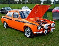 Mk1 Escort side strip