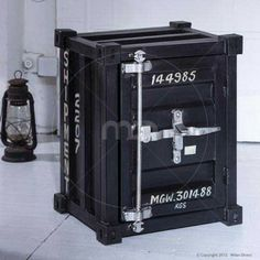 Shipping Container Side Cabinet - Buy Industrial Storage Cabinets - Milan Direct