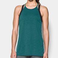 Women's UA Threadborne™ Fashion Tank, grön