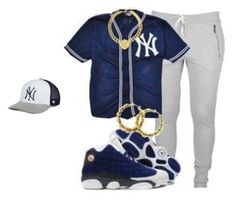 yankees 2 by jaiden-ortiz on Polyvore featuring '47 Brand