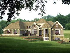 This a cool house. It might be a bit big with the basement. But the main floor is great just by itself. House Plan 42642