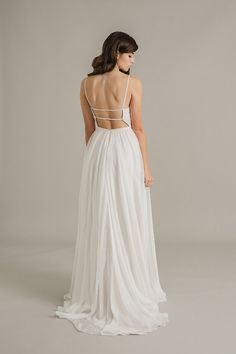 Sally Eagle's Eden wedding dress from her bridal collection