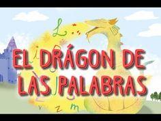 AUDIOCUENTO INFANTIL ORIGINAL - El Dragón de las Palabras - YouTube Book Presentation, Homeschool, Neon Signs, China, Elsa Frozen, Education, Children's Literature, Short Stories, Baby Books