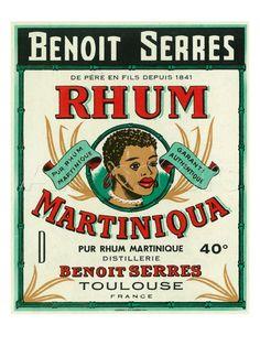 Rhum Martiniqua Benoit Serres Brand