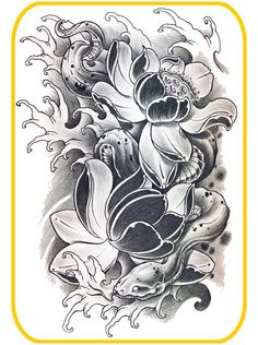 Japanese Serpents Flash Designs. Top quality high resolution color design, with tattoo stencil outline for instant download. Get the body art you deserve. Many other designs. View at http://mickeymud.com/galleries/