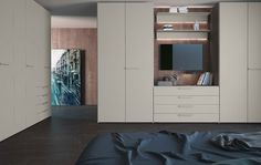 The Jesse Plana M05 wardrobe is made in Italy and like all of Jesse's wardrobes, is extremely versatile. It is also customisable, so is perfect for use as a fitted wardrobe