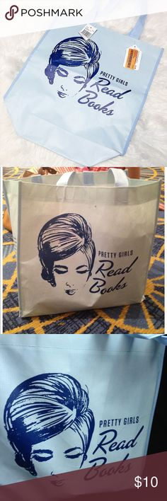 BAM Exclusive Pretty Girls Read Books Tote Bag 📚 Brand new with tags!! Rare exclusive item Seen at the Romance Writers Conference in Atlanta, Georgia. Books-A-Million tote Bag Books-A-Million Bags Totes