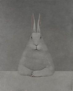 Shao Fan: Rabbit at Desk, 2012