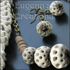 Polymer Tutorials: Polymer Clay Beads: Possibilities of Openwork Tech...