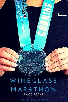 The Five Stages of Running A Marathon: Wineglass Marathon Race Recap {#RunChat, #FitFluential, running marathon like giving birth, 5 stages of running a marathon}
