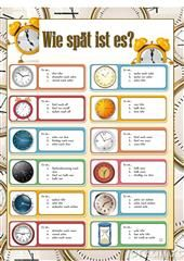 What time is it? Foreign Language Teaching, German Language Learning, Language Study, Study German, Learn German, Learn English, German Grammar, German Words, German Resources