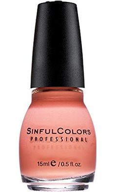 Sinful Colors Professional Nail Polish Enamel 1103 Island Coral