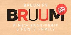 Font dňa – Bruum FY (zľava 70%, komplet 46,20€) - http://detepe.sk/font-dna-bruum-fy/