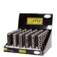 Micro Metal Geometric 3 - Lighters - Clipper UK