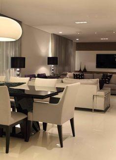 Home Room Design, Dream Home Design, Home Design Plans, Dining Room Design, Home Interior Design, House Design, Living Room Partition Design, Living Room Tv Unit Designs, Home Living Room