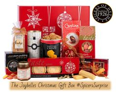 The Joybelles Christmas Gift Box Hamper. Our hampers: http://www.spicersofhythe.co.uk/