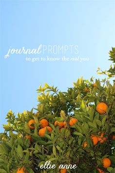 Journal Prompts: Know the Real You