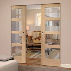 Double Frameless Pocket Doors – Page 10 Indoor Sliding Doors, Sliding Pocket Doors, Internal Sliding Doors, Double Pocket Door, Bedroom Divider, Room Divider Doors, Room Doors, Bedroom Windows, Living Room Double Doors