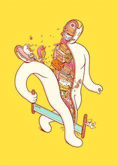 ilustraciones surrealista -