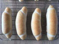 Hot Dog Buns, Hot Dogs, Food And Drink, Bread, Blog, Basket, Brot, Blogging, Baking