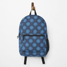 Diamond Pattern, Fashion Backpack, Clutches, I Shop, Backpacks, Art Prints, Denim, Printed, Awesome