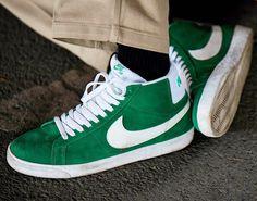 the best attitude 8f170 942b0 Nike SB Blazer Mid Pine Green White ✅ právě na www.popname.cz