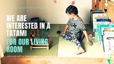 Japanese babies often spend a great deal of time playing and crawling on... Tatami Room, Tatami Mat, Japanese Babies, Great Deals, Play, Home Decor, Style, Swag, Decoration Home