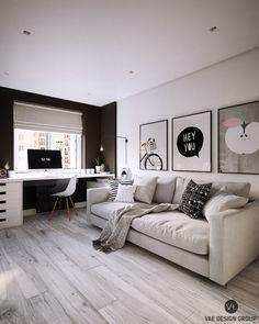 Trendy bedroom design white furniture home decor Home Office Space, Home Office Design, Home Office Decor, Home Design, Interior Design, Home Decor, Office Ideas, Design Ideas, Room Interior