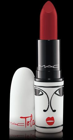 MAC Cosmetics: Isabel and Ruben Toledo Lipstick  in Opera.  My favorite red!  Matte,  true red and perfect!