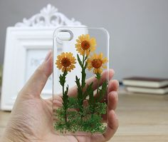 Wicked Clothes - staceythinx: Pressed flower clear phone cases...