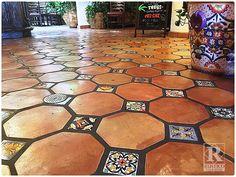 Saltillo tile mexican paverscalifornia tile sealers california octagon mexican saltillo tile ppazfo
