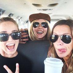 Katie Cassidy, Caity Lotz and Emily Bett Rickards