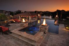 Formal Pools by California Pools & Landscape