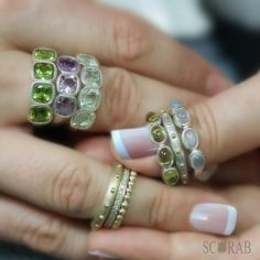 Playing with Scarab jewels.  #Scarabjewellery #rings #gemstones