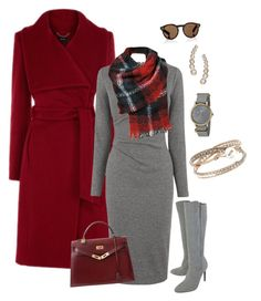 """""""Look work chick #a"""" by ccarmemlucia on Polyvore featuring moda, Whistles, Hermès, French Connection, Timex, Illesteva e Lana"""