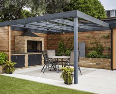 The pergola you choose will probably set the tone for your outdoor living space, so you will want to choose a pergola that matches your personal style as closely as possible. The style and design of your PerGola are based on personal Pergola Carport, Building A Pergola, Outdoor Pergola, Pergola Plans, Pergola Kits, Pergola Ideas, Modern Pergola, Pergola Lighting, Patio Ideas