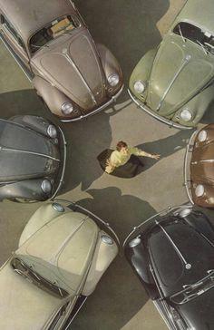 Vintage VW ad - 1955