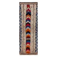 Mid Vintage Rug 4'5x13'9 Natural now featured on Fab.