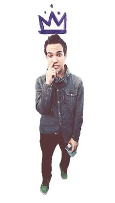 Peter,don't you pick your nose!Your a king!of Fall out Boy that is