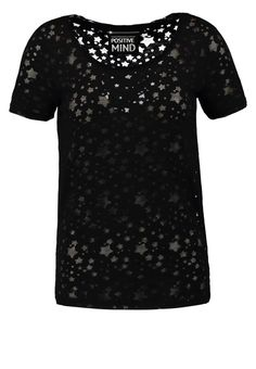 ONLY ONLHABEL - Print T-shirt - black for £5.60 (23/10/16) with free delivery at Zalando