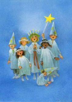 Postkarte - Santa Lucia