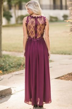 Browse our beautiful dresses in many colors and styles at Red Dress Boutique. Find women's outfits for sale at the lowest prices. Shop for the perfect outfit! Lace Maxi, Bridesmaid Dresses, Wedding Dresses, Pantone Color, Marsala, Boutique Dresses, Beautiful Necklaces, Burgundy, Beautiful Women